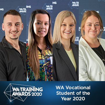 WA Vocational Student of the Year 2020 finalists
