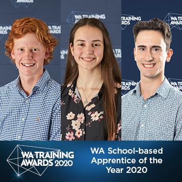 WA School-based Apprentice of the Year 2020 finalists