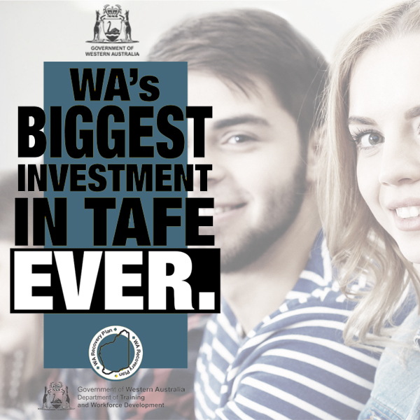 Biggest TAFE investment in history as part of WA Recovery Plan