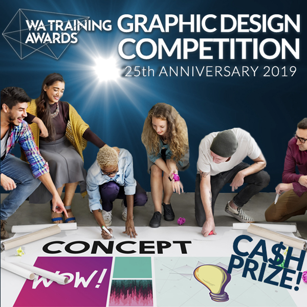 WA Training Awards 25th Anniversary Design Competition