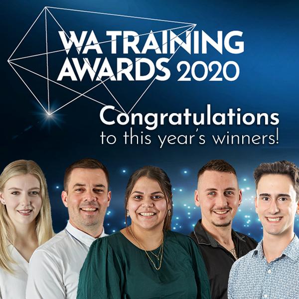 Congratulations to the 2020 WA Training Awards winners!