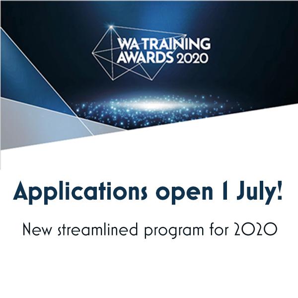 WA Training Awards return for 2020!