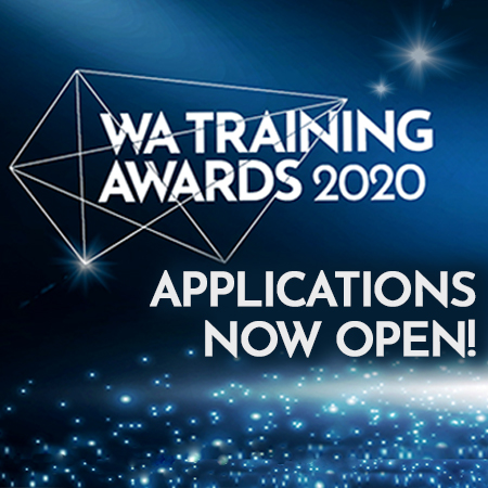 WA Training Awards 2020 - applications now open