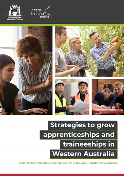Strategies to grow apprenticeships and traineeships