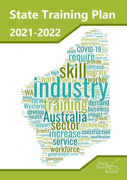 State Training Plan 2021-2022 Cover Page
